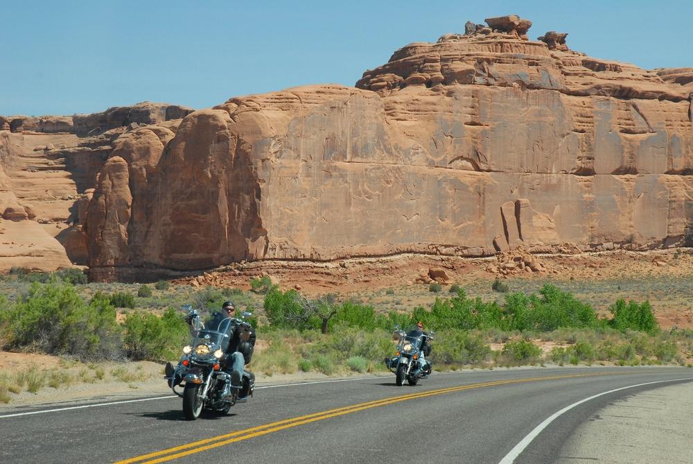 Amerika Harley háton